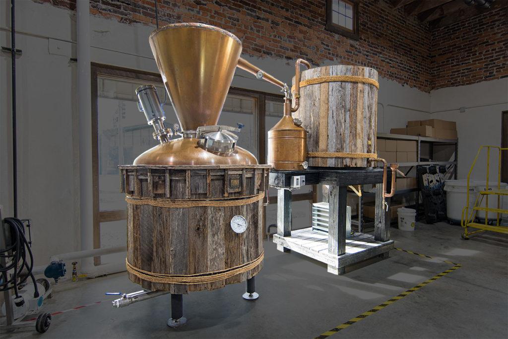 Moonshine Distillation Process at Crystal Ridge Distillery
